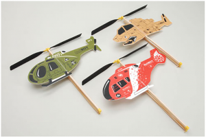 Rubber Powered Helicopter