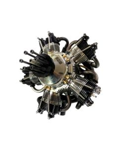 UMS 260cc Gas / Petrol 5 Cylinder Radial 4 Stroke Engine with Pump