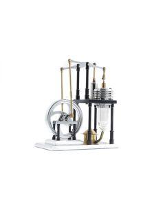 UMS Stirling Engine Silver and Black SE-01
