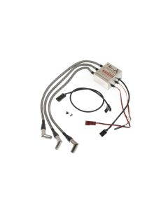 """RCEXL 3 Cylinder Ignition 90 Degree 1/4-32"""" ME-8 5/16"""" (8mm Hex) Spark Plug Cap"""