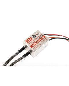 "RCEXL Twin Cylinder Ignition 90 Degree CM-6 / 10mm 9/16"" (14mm Hex) Spark Plug Cap"