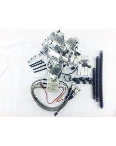 Saito FG-60 R3 Gas / Petrol 3 Cylinder Radial 4 Stroke Engine