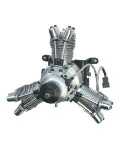 Saito FG-33 R3 Gas / Petrol 3 Cylinder Radial 4 Stroke Engine