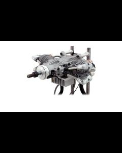 Saito FG-61Ts Gas / Petrol Twin Cylinder 4 Stroke Engine