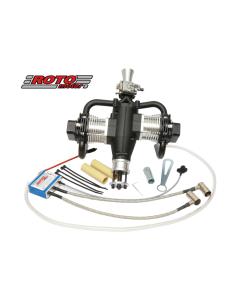 Roto Motor 85cc FS Gas / Petrol Twin Cylinder 4 Stroke Engine