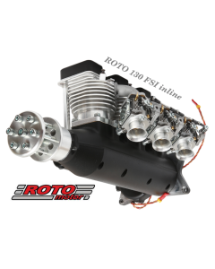 Roto Motor 130cc FS Gas / Petrol Inline 3 Cylinder 4 Stroke Engine