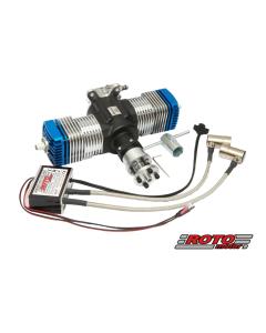 Roto Motor 50cc V2 Gas / Petrol Twin Cylinder 2 Stroke Engine