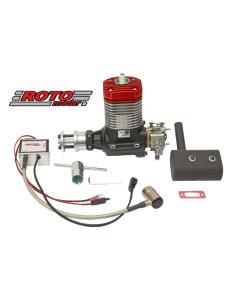 Roto Motor 35cc VI Gas / Petrol Single Cylinder 2 Stroke Engine