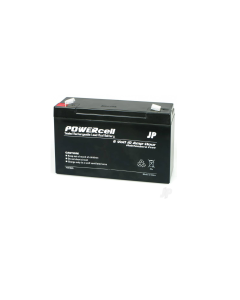 J Perkings 6v 10Ah Powercell Sealed Gel Acid Cell Battery