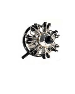 UMS 7-77cc Glow 7 Cylinder Radial 4 Stroke Engine