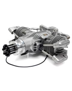 Saito FG-100TS Gas / Petrol Twin Cylinder 4 Stroke Engine