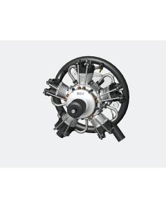 UMS 75cc Gas / Petrol 5 Cylinder Radial 4 Stroke Engine with Pump