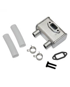 DLE 20cc RA Gas / Petrol Single Cylinder 2 Stroke Engine Muffler and Gasket