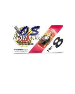 OS Engine Type #8 Glow Plug Medium L-OS71608001