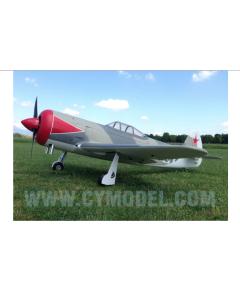 """CY Model 100cc + Gas / Petrol YAK 3U ARTF 96"""" CY-8021"""
