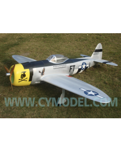 "CY Model 100cc + Gas / Petrol P-47-D Thunderbolt ARTF 96"" CY-8009FT"