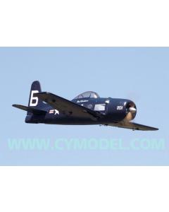 "CY Model 50cc + Gas / Petrol F8F Bearcat 84"" CY-8032B"