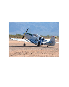 "CY Model 100cc + Gas / Petrol P51 B Mustang  ARTF 96"" CY-8015B"