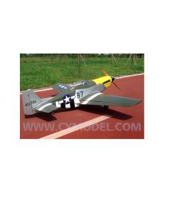 "CY Model 100cc + Gas / Petrol P51 D Mustang  ARTF 96"" CY-8015B7"