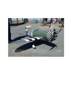 """CY Model 100cc + Gas / Petrol P47 Razorback ARTF 96"""" CY-8009C"""