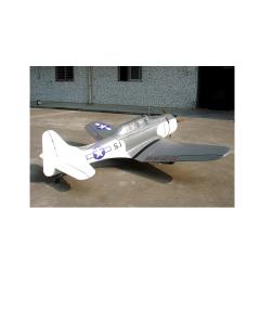 """CY Model 100cc + Gas / Petrol Douglas SBD-5 Dauntless ARTF 100"""" CY-8017"""