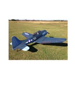 """CY Model 100cc + Gas / Petrol Douglas SBD-5 Dauntless ARTF 100"""" CY-8017B"""