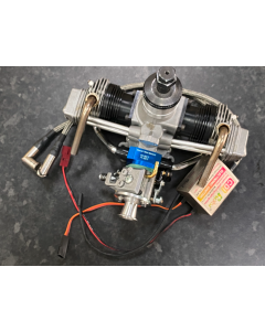 Refurbish SC FS-160 Twin Cylinder 4 Stroke Engine With Full Gas Conversion Combo