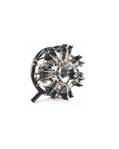 UMS 90cc Gas / Petrol 7 Cylinder Radial 4 Stroke Engine with Pump