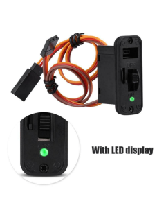 Heavy Duty On Off RC Switch with LED (JR)