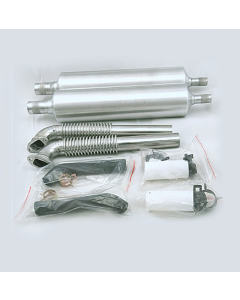 40cc - 85cc Twin Canister Set Back Exit