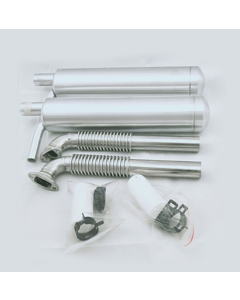 40cc - 85cc Twin Canister Set Front Exit